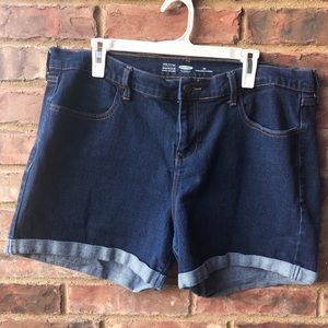 Old Navy Semi-fitted Jean Shorts - Size 16